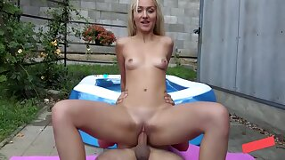 Fuck Me Hard, I Want To Gets Pregnant - German Babe