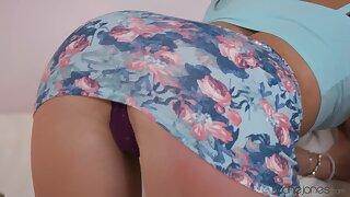 Closeup video of horny Sonya Durganova giving head and riding