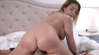 Gorgeous spoil is monster fucked by that masked burglar